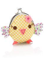 Chick clip frame purse