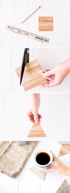 Step by Step // How To Make Geometric Coasters