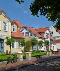 Wangerooger Ortskern, © Ostfriesland Tourismus GmbH