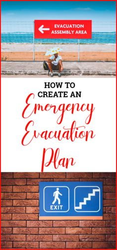 September is National Preparedness Month. Here are some tips for creating and emergency evacuation plan for the entire family. Emergency Management, Home Management, How To Remove, How To Get, How To Plan, Emergency Evacuation Plan, National Preparedness Month, Family Safety, Family Emergency