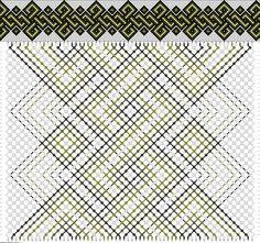 Celtic Friendship Bracelet Pattern