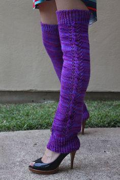 Nozky #legwarmers  #knit #free_pattern