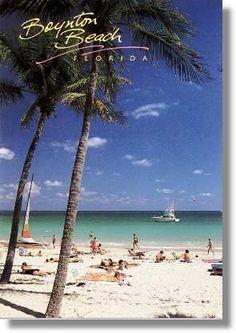 Beautiful white sandy beaches & the most beautiful Atlantic Ocean that is bathtub warm & the prettiest shades of blues & greens! Boynton Beach Florida, South Beach Florida, Miss Florida, Florida Living, Palm Beach County, Florida Vacation, Florida Beaches, Sandy Beaches, Jacksonville Florida