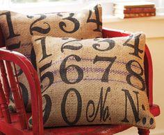 ~ Ms Smartie Pants ~ number typography pillows #diy #craft #pillows