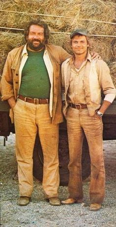 Bud Spencer & Terence Hill, not Hollywood stars but our legends 😊😉 Ÿ . - Bud Spencer & Terence Hill, not Hollywood stars but our legends 😊😉👍 - Hollywood Stars, Bud Spencer Terence Hill, Mejores Series Tv, Films Cinema, Good Old Times, Actrices Hollywood, Bude, Old Tv, Classic Movies