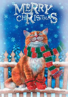 The perfect Snow Cat MerryChristmas Animated GIF for your conversation. Discover and Share the best GIFs on Tenor. Christmas Scenes, Christmas Cats, Christmas Pictures, Vintage Christmas, Christmas Time, Merry Christmas, Xmas Gif, Funny Cat Jokes, Christmas Wallpaper