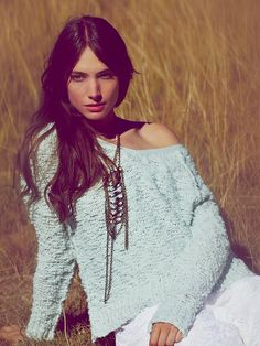 Free People Shaggy Knit Pullover, $98.00  I have this amazing sweater!! SO comfy!