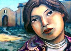 Taos Indian Girl by Miguel Martinez kp