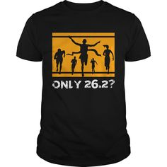 Get yours cool Only 26 2 Marathon Runner T-Shirt Ultra Half Marathoner Shirt Maraton Runner T Shirt Shirts & Hoodies.  #gift, #idea, #photo, #image, #hoodie, #shirt, #christmas