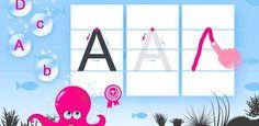 Aplicación: Dibuja el abecedario