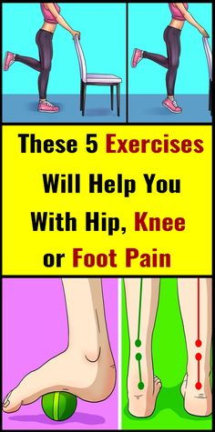 Around of people in the US suffer from hip, knee or foot pain. Here are some exercises that can make you feel better and ease the pain. Raises This exercise targets the muscles around the knee and it strengthens your ankles. How to do it: You will need… Arthritis, Mudras, Medicine Book, Stress, Ga In, Sport Fitness, Fitness Tips, Fitness Motivation, Health Fitness