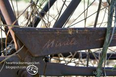 Recycled Bicycle - Murray Missle