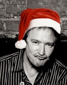 One of my favorite pictures of Alan! (Santa the Boss)