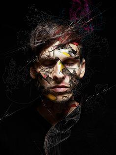 Alberto Seveso combina el precioso arte vectorial, ilustración y fotografía