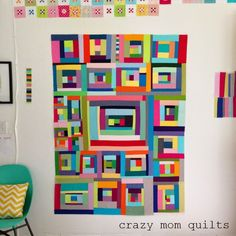 """crazy mom quilts: """"you can't rush art"""""""