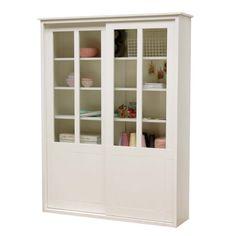 Timzowood Living Vitrinekast 220 x 168 cm 2 deurs - Wit