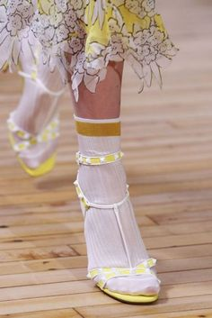 Summer Shoes | Six Things To Note From The Valentino Resort 2018 Show | British Vogue