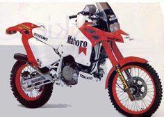 Dakar 1988 Suzuki DR Z800 he loves them