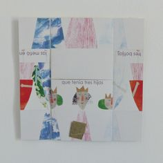 If you are looking for something different for a child's birthday,  this collection of three puzzle-storybooks is fun, colourful and original!Each pack contains three eye-catching paper booklets that unfold to reveal three stories in Spanish (French and English translations are provided). The three books measure 18 cm