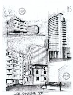 Modern buildings by AlinaGeorgia7.deviantart.com on @deviantART