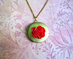 Dragon Age: Origins Alistair's rose gift by KRYSTYSJEWELRY on Etsy