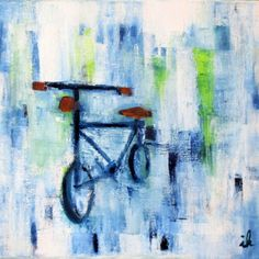 Buy Bicycle in a square, Oil painting by Ingrid Knaus on Artfinder. Discover thousands of other original paintings, prints, sculptures and photography from independent artists.