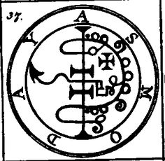 Sigil of Asmoday