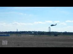 VIDEO: Military Helicopters Descend over Central Texas for Mass Civil Unrest Drill | Truthstream Media