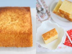 The Little Teochew: Singapore Home Cooking: Butter (Almond) Cake