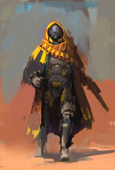 The Movie Sleuth: Images: A Collection Of Sci-Fi Concept Art Featuring Mech And Big Guns From Shinku Kim Sci Fi Kunst, Cyberpunk Kunst, Character Creation, Character Concept, Character Art, Arte Sci Fi, Sci Fi Art, Science Fiction, Armadura Medieval