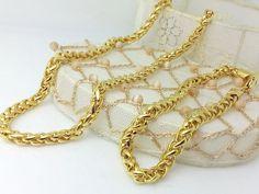 Collana Bracciale Oro Completo Gioielli Unisex Uomo Donna I Gioielli Di Vicky