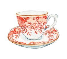 M&S Biscuit Tin Design - Holly Exley Illustration