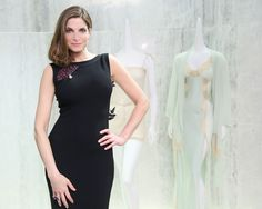 Cute dress.... Stephanie Seymour and Barneys Host the Launch of Raven & Sparrow