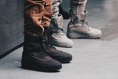 Kanye West adidas Yeezy Boost 950 Yeezy Duck Boot - I find it amazing how his shoes look comfortable and fashionable and thats one of the biggest things for me.