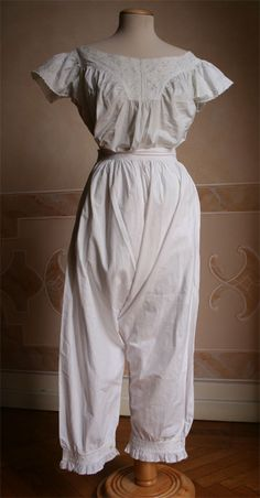 1873 Chemise & Drawers - Front