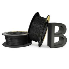 PLA bq 1,75mm Coal Black 1Kg #friki #android #iphone #computer #gadget Visita http://www.blogtecnologia.es/producto/pla-bq-175mm-coal-black-1kg