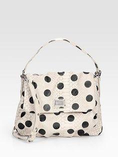 Designer Polka Dot Tote Bags are just so posh!