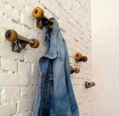 Confira 17 maneiras incríveis de reaproveitar as peças de skatee encher a casa de personalidade