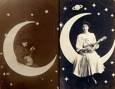 My Vintage Wedding: Paper Moon Photo Booth, absolute must have for the Hoover union