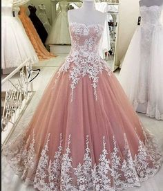 Long Prom Dresses,Lace Up Prom Dresses,Pink Prom Dress,A-line