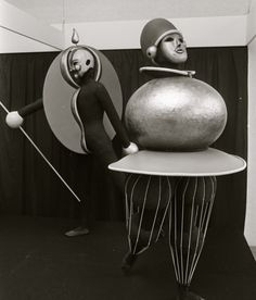 Bauhaus costumes for performance  Stedelijk Museum Amsterdam, 1968 *
