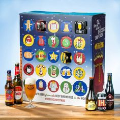 In search of beer social gathering ideas?, say peace along with brewskies in their wedding anniversary brew trek with the use of booze taste of and microbrew themed party provides. Craft Beer Advent Calendar, Advent Calendars, Beer Christmas Gifts, Flying Dog, To Spoil, Beer Tasting, Whisky, Brewery, Whiskey