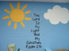 Preschool Church Classroom