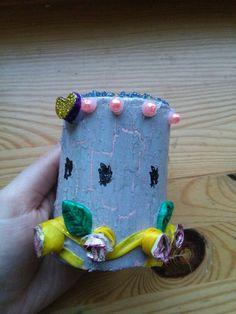 My handmade candlestick :-D