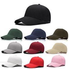 de5ea846007 1Pcs 2018 Fashion Women Men Summer Spring Cotton Adult baseball Cap Solid  Color Adjustable Sport Duckbill