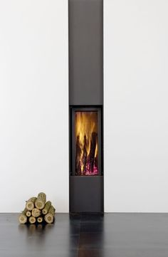 modern wood burning fireplaces