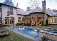 (PLAN#180)----- Plan 40920DB: Luxurious French Chateau