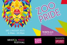 Win a pair of tickets to the UK's first Zoo Pride on Saturday 1st August plus free entry to the official after party #zoo #pride #bristol #competition
