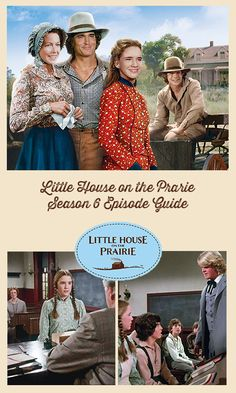 Little House on the Prairie Season 6 Episode Guide with clips of episodes. Season six brings new characters that we grow to love. Classic Books, Classic Tv, Melissa Sue Anderson, Good Morals, Childhood Tv Shows, Tv Show Casting, Michael Landon, Home, House