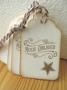 Thank You Tags, Much Obliged Gift Tags, Western Style Gift Tags Country Western Parties, Western Theme, Western Style, Rodeo Party, Texas Party, Wild West Party, Horse Birthday Parties, Western Christmas, D Avila